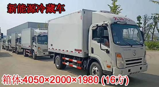 大运纯电动冷藏车4.2米
